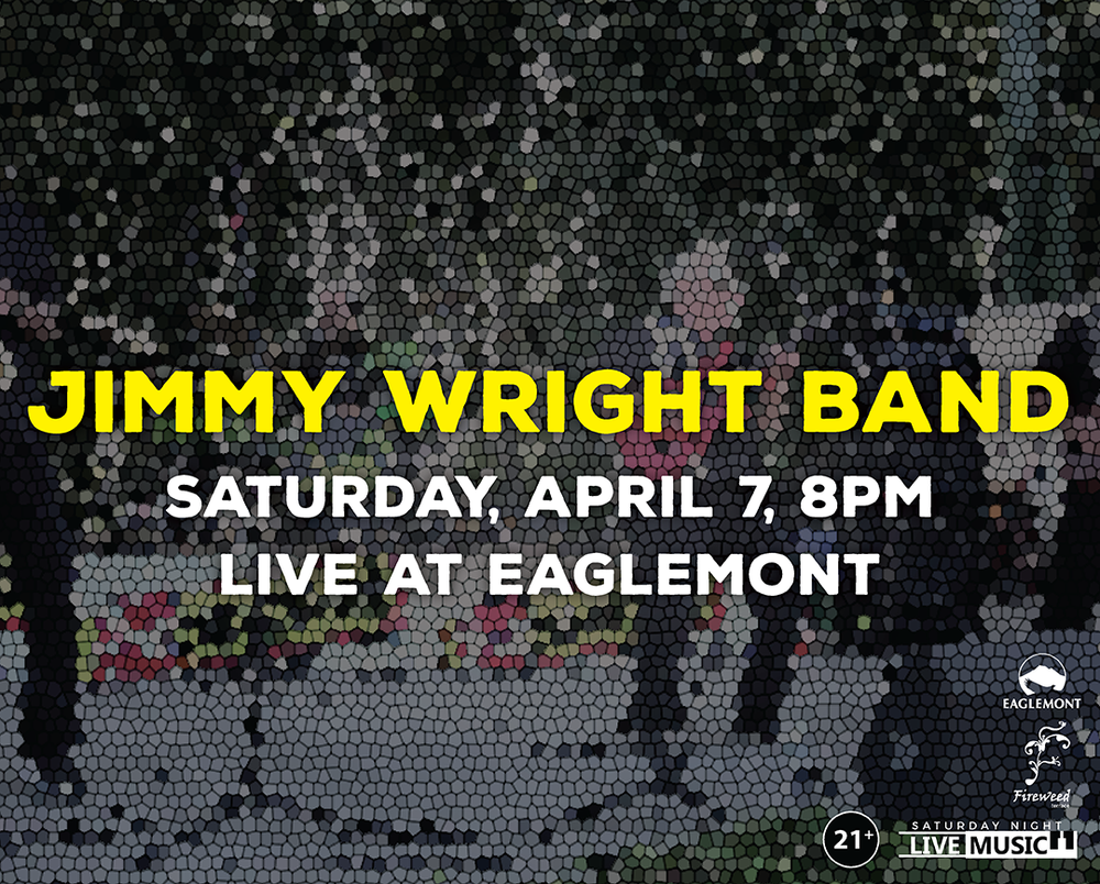 Join us for a night of oldies, boogie blues, and classic rock with The Jimmy Wright Band, Live at Eaglemont Golf Course.  Free Admission / 21+ Event  For upcoming band line-ups at Fireweed Terrace / Eaglemont Golf Course, visit  www.eaglemontlive.com