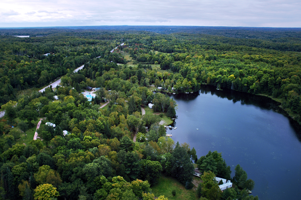 the_woods_of_minden_hills_camping_aerial_view_1
