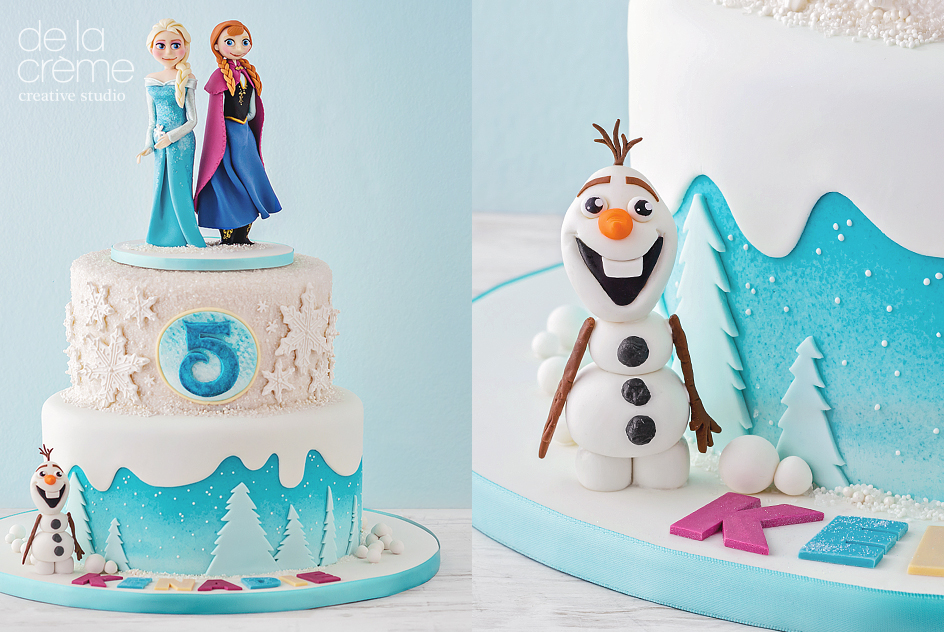 Disneys Frozen Cake De la Crme Creative Studio