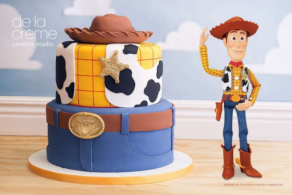 Toy Story S Woody Inspired Cake De La Cr 232 Me Creative Studio