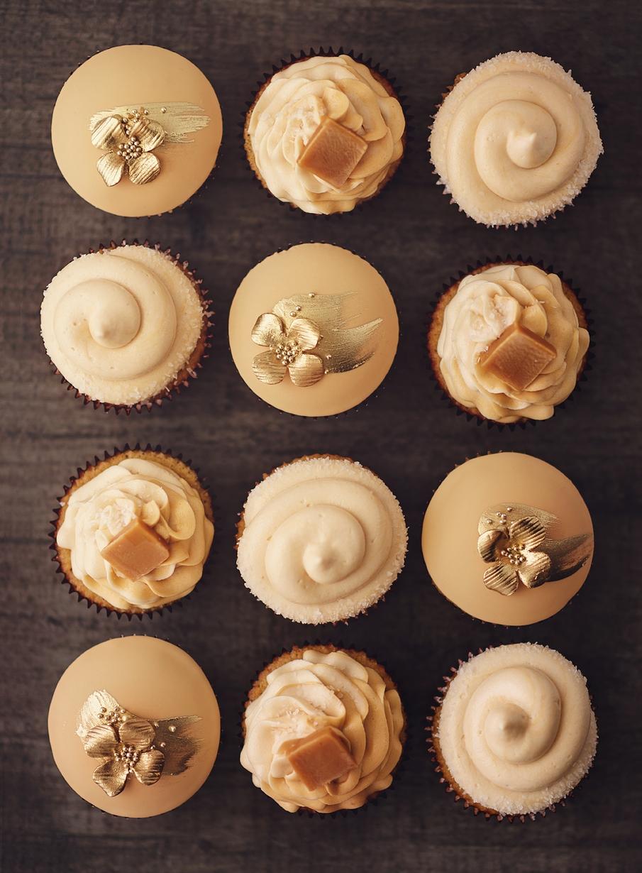 SaltedCaramel Cupcake Set