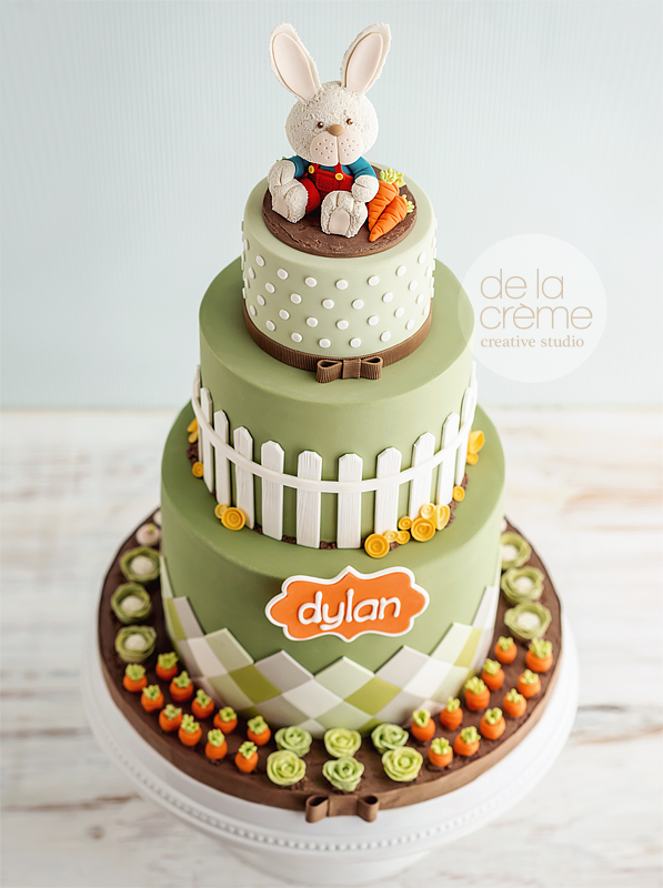 Harry The Bunny Cake De La Cr 232 Me Creative Studio
