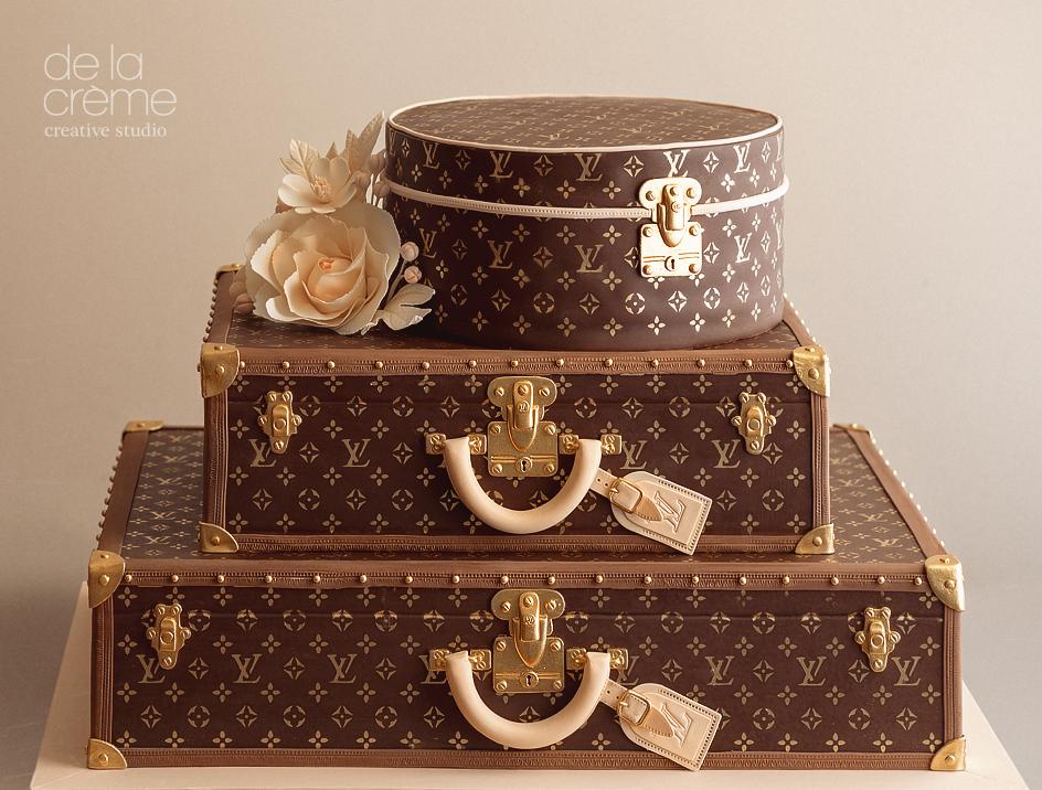 Luggage Birthday Cake