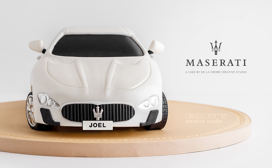 Maserati Car Cake De La Cr 232 Me Creative Studio