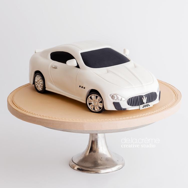 Maserati Car Cake De La Creme Creative Studio
