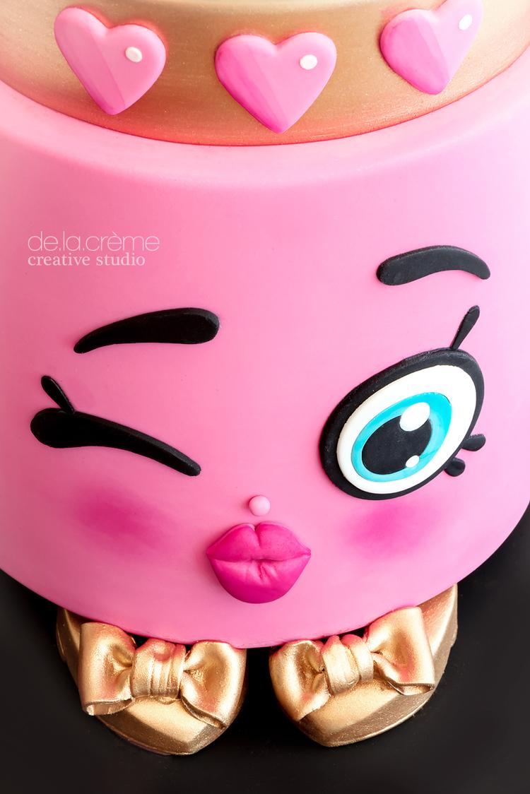 Shopkins Lipstick Cake De La Creme Creative Studio