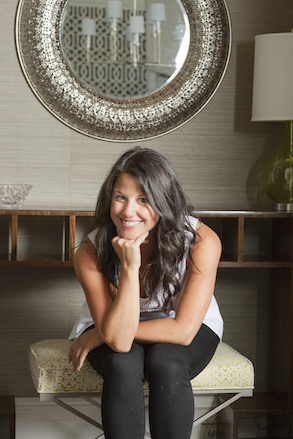 Lindsay Kate Feldman Principal designer and owner of L. Kate Interiors LLC, based in New York, New York