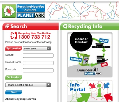 Planet Ark Recycling Near You