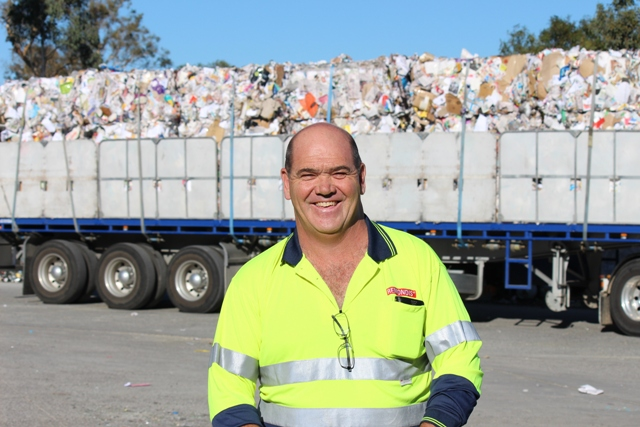 Well packed trucks make Doug happy and contaminated recycling makes him growl!
