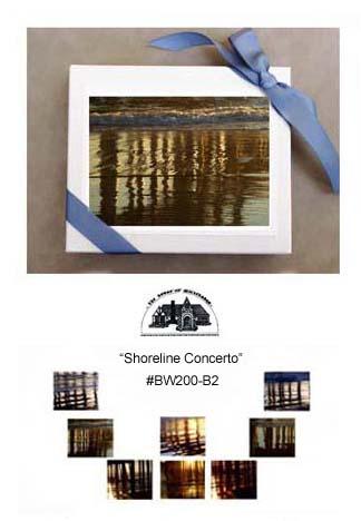 """Shoreline Concerto""     #BW200-B2"