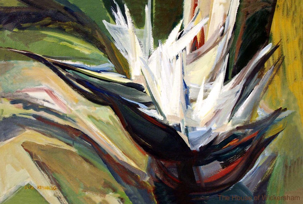 """Bird of Paradise #3""   #ER003"