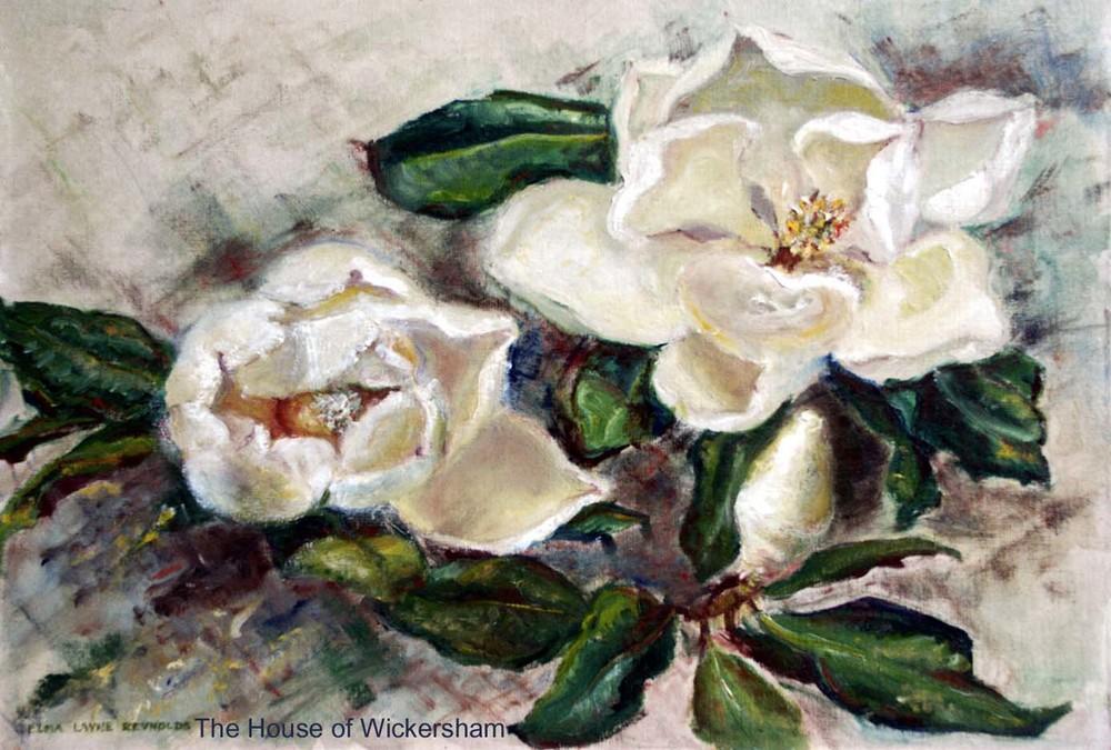 """""""Elma's Magnolias""""     #ER005"""