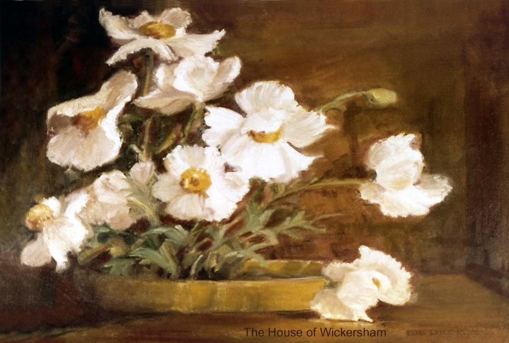 """""""White Flowers""""     #ER0079"""