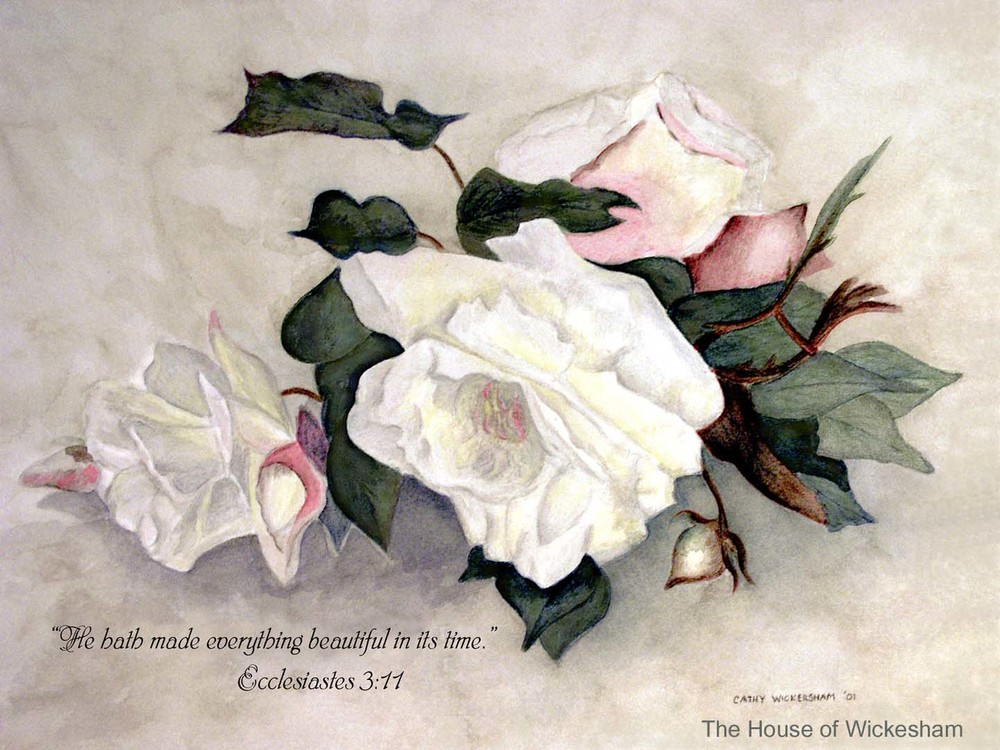 """Annie's Rugosa with Scripture""     #CW001"
