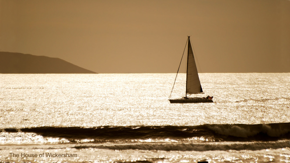 """Sailing Into Bliss""     #BW223"