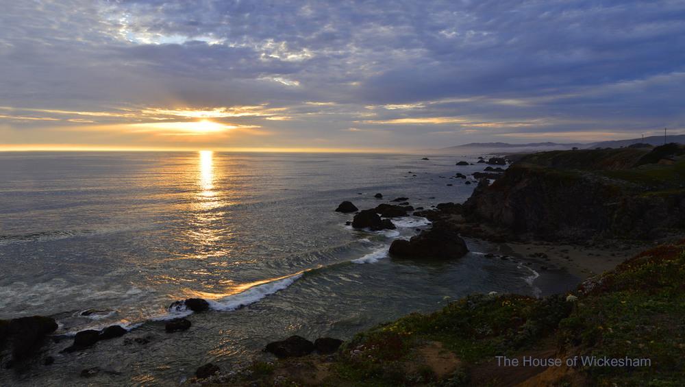 """Sonoma Coast""     #BW238"