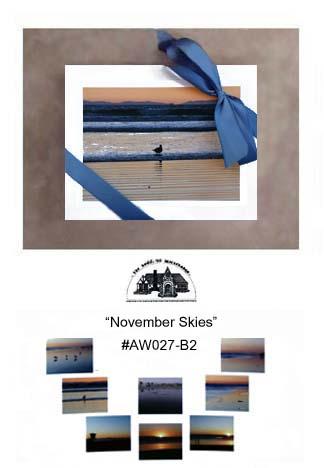 """""""November Skies""""     #AW027-B2"""