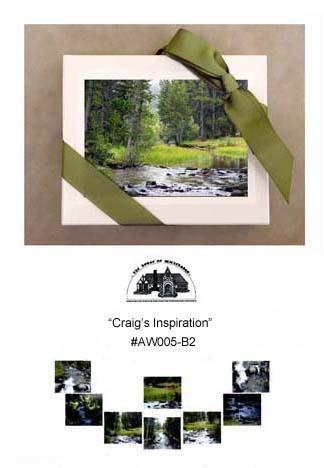 """Craig's Inspiration""     #AW005-B2"
