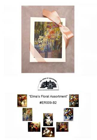 """Elma's Floral Assortment""     #ER009-B2"