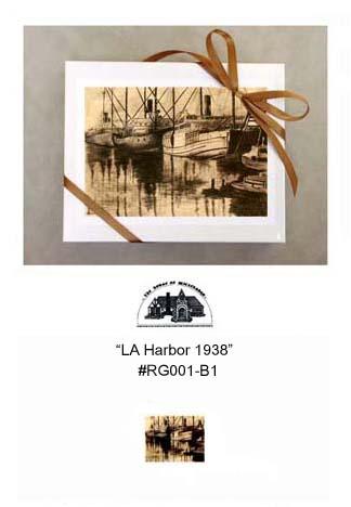 """""""LA Harbor 1938""""     #RG001-B1"""