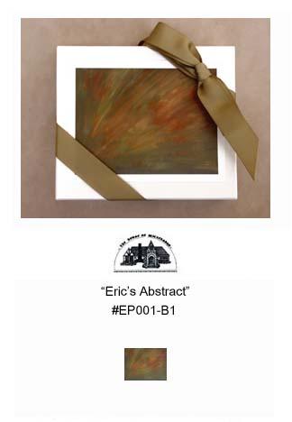 """""""Eric's Abstract""""     #EP001-B1"""
