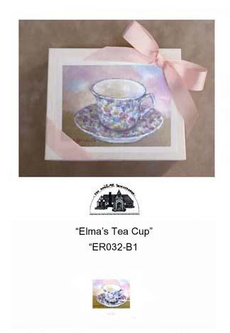 """Elma's Tea Cup""     #ER032-B1"
