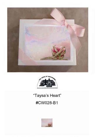 """Taysa's Heart""     #CW028-B1"