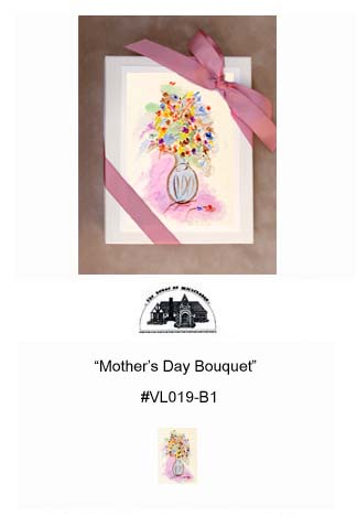 """Mother's Day Bouquet""     #VL019-B1"