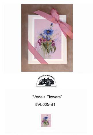 """Veda's Flowers""     #VL005-B1"