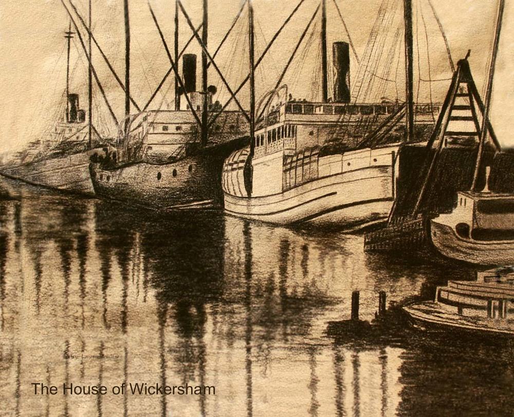 """""""1938 LA Harbor""""     #RG001"""