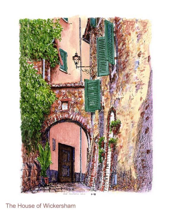 """""""Tuscanny Archway""""     #DW004"""