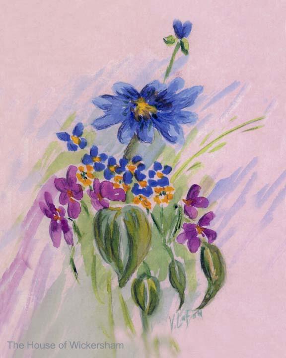 """Veda's Flowers""     #VL005"