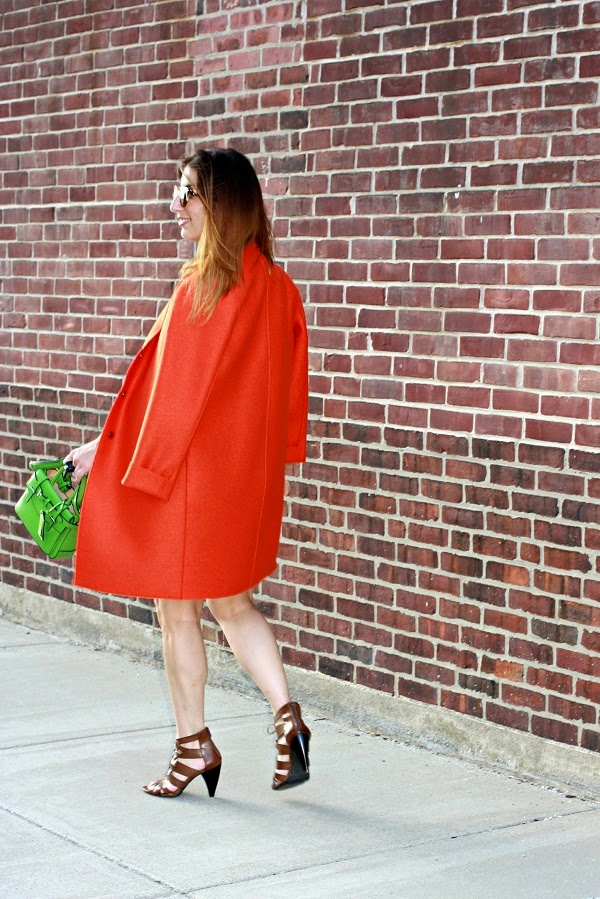Coat, Harris Wharf London $510, Dress, DVF SS2012, Bag, Reed Krakoff Micro Boxer, Shoes, Mossimo for Target