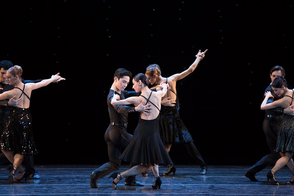 A scene from Black Cake. Image c/o Boston Ballet.