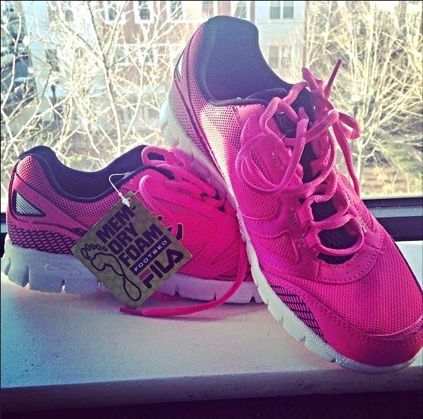 Fila Memory Foam sneakers