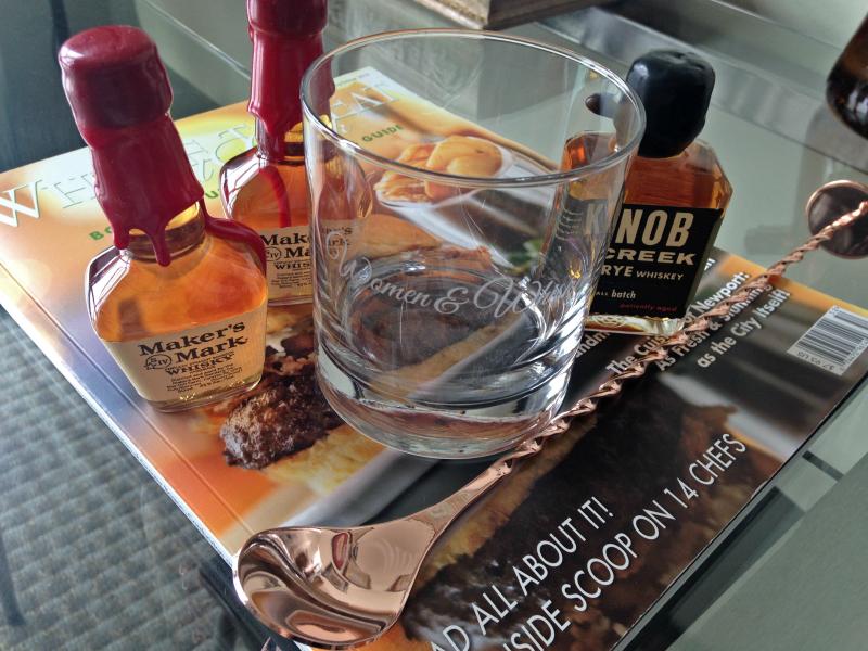 Hands-off my Women & Whiskey glass, c/o Suntory...