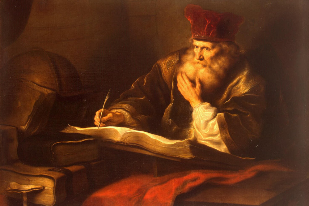Koninck Salomon  An Old Scholar