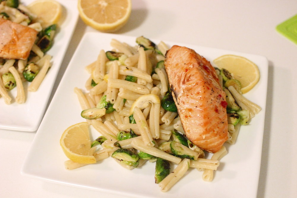 Recipe a simple and dairy free dinner from whole foods you can whole foods salmon pasta recipeg forumfinder Choice Image