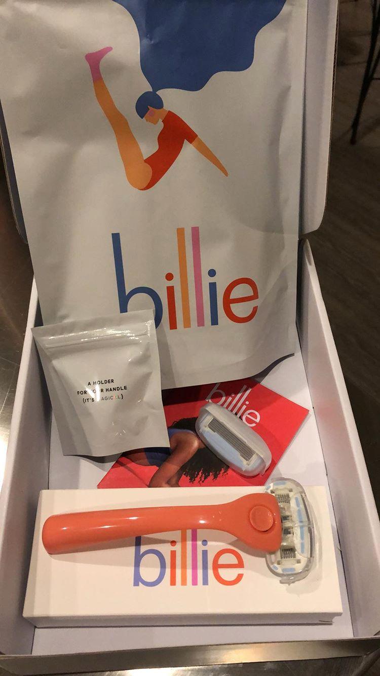 Unboxing my Billie Starter Kit