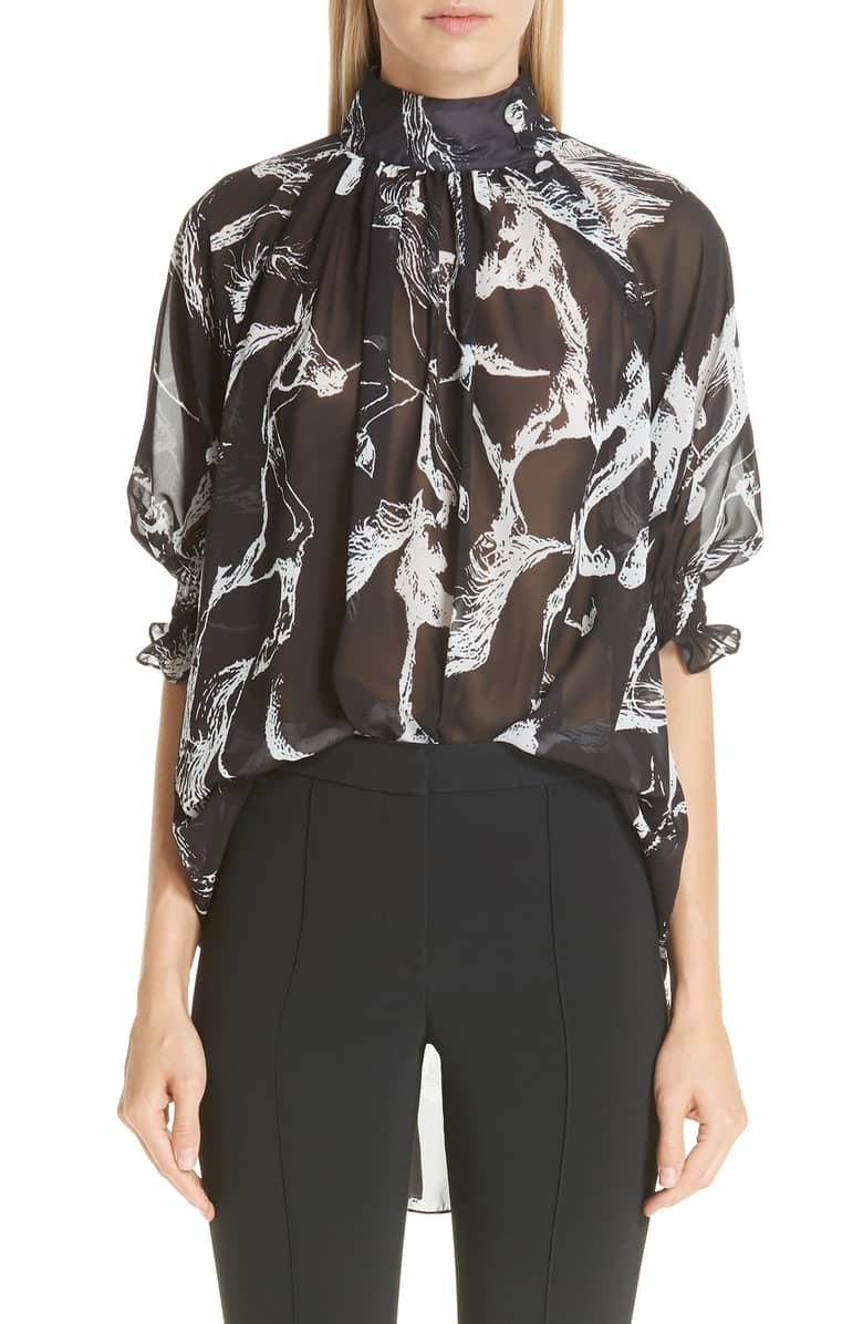Printed Silk Shirt, $750  at Nordstrom