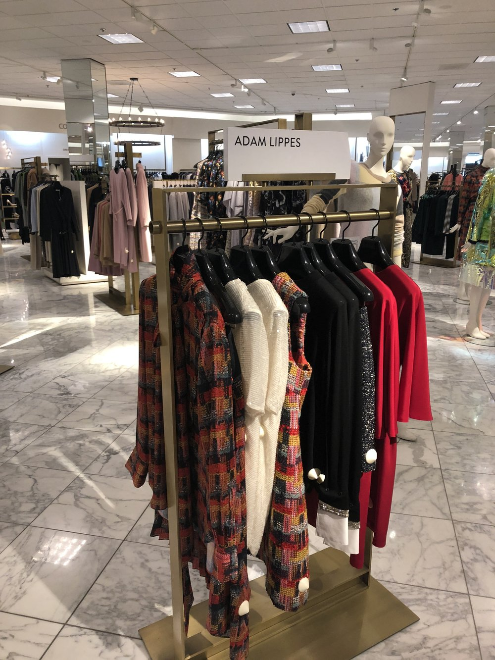 Adam Lippes FW2018 at Nordstrom in King of Prussia