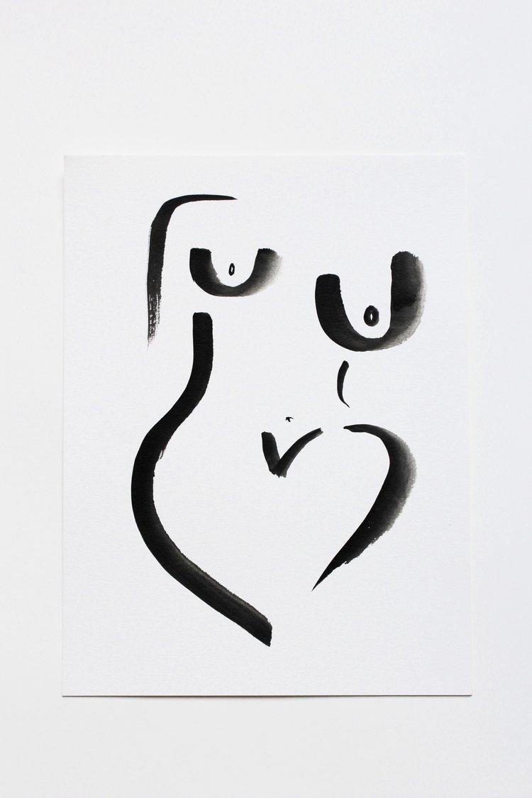 """""""Nude Noir,"""" Carrie Beth Waghorn"""