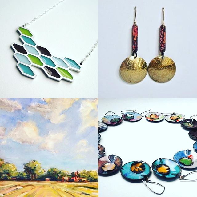 Come to the gallery tonight for #raleighfirstfriday see all of our amazing guest artists for March: Kathleen Mattingly Dautel, Suzanne Krill, Ted Van Dyk, Ndidi Kowalcyzk! #keepitlocal