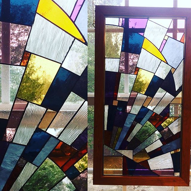 When light is precious during the winter and early spring months, give it the attention it deserves with one of Jim Sprinkle's stained glass pieces. Gallery opens today at noon! #keepitlocal