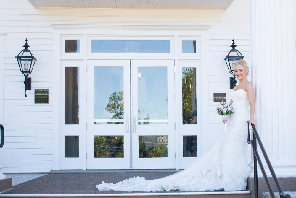 Bride Bridal Portrait Wedding Day Brawner Hall
