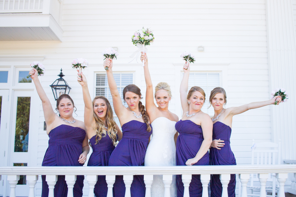Fun Bridesmaids Photo With Bride
