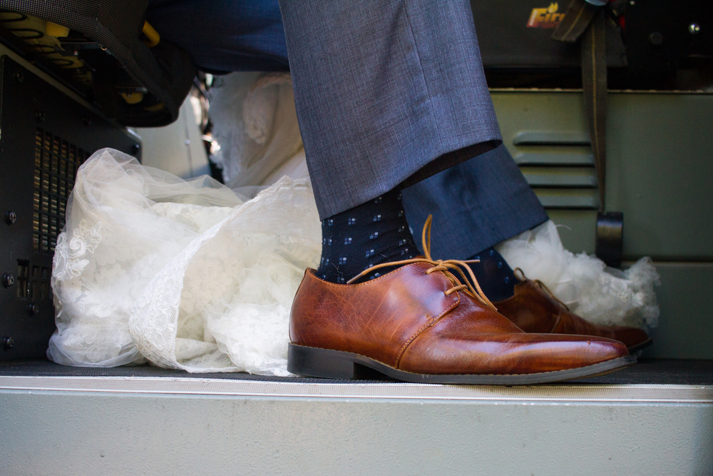 Groom Detail Socks and Shoes