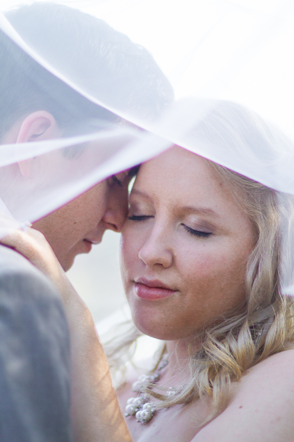 Wedding Veil Shot