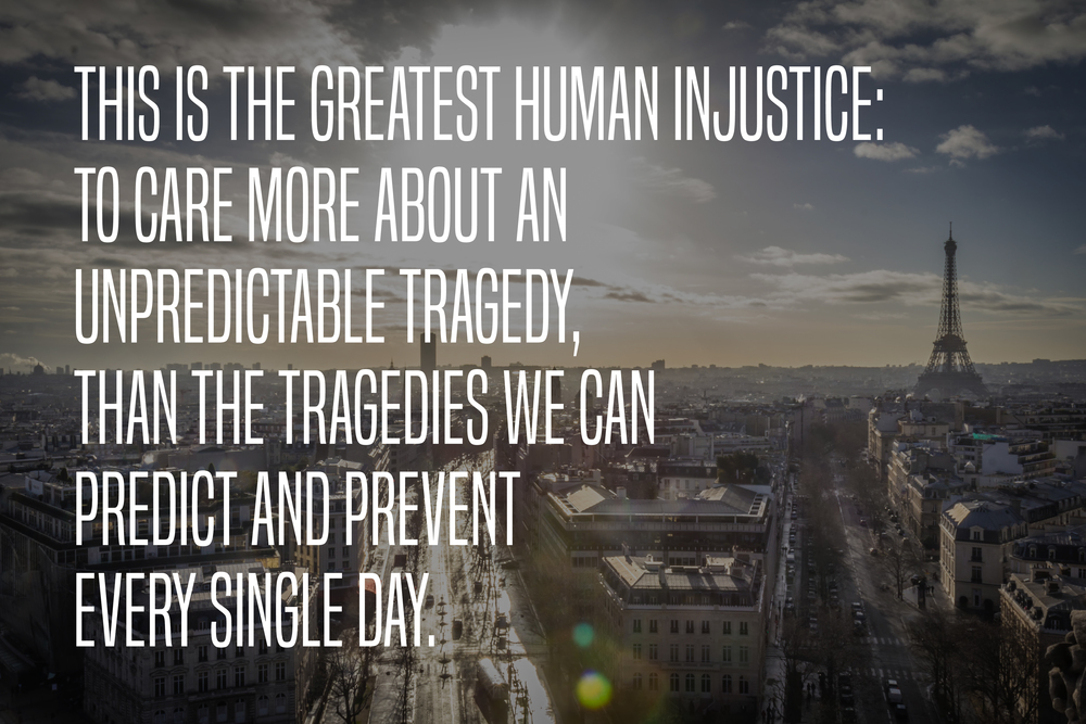 Paris Quote Human Injustice