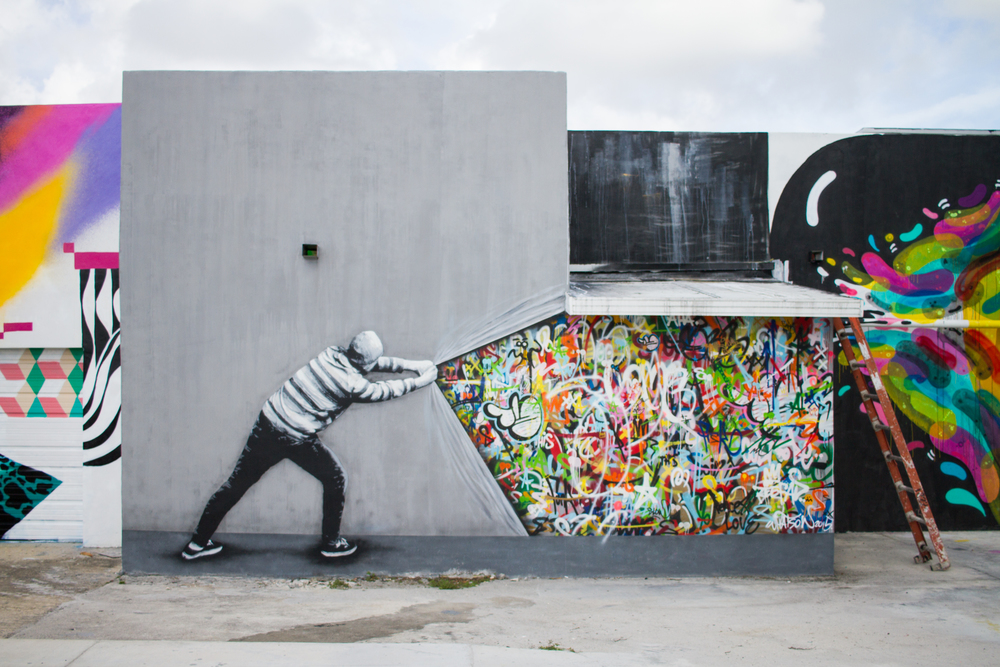 Wynwood Walls Art Walk Miami Design District